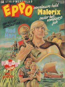 STRIPWEEKBLAD-EPPO-1983-nr-38-MALORIX-COVER-FC-KNUDDE-POSTER-COMICS