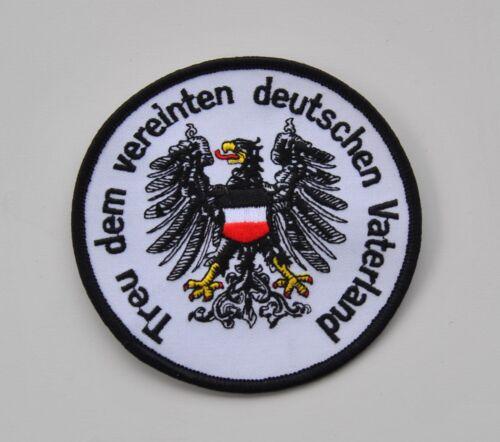 Ricamate Germania fedele al unite patria tedesca bandiera emblema d5