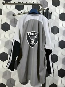 best sneakers a894c 89814 Details about Oakland Raiders Logo NFL 75 Jersey Size XL CMP Sport Team 90s