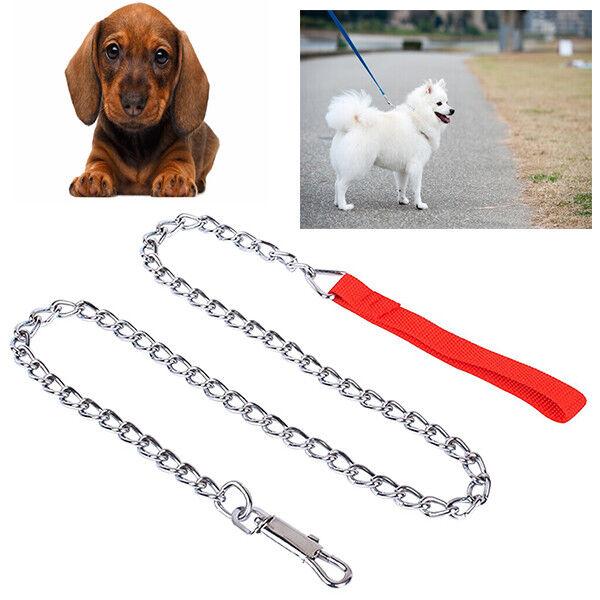 Leine Hunde Kette Griff 1 1 1 Meter für Kragen Tiere 2,5 o 3,5 mm 636    Moderne und stilvolle Mode  6b95c8