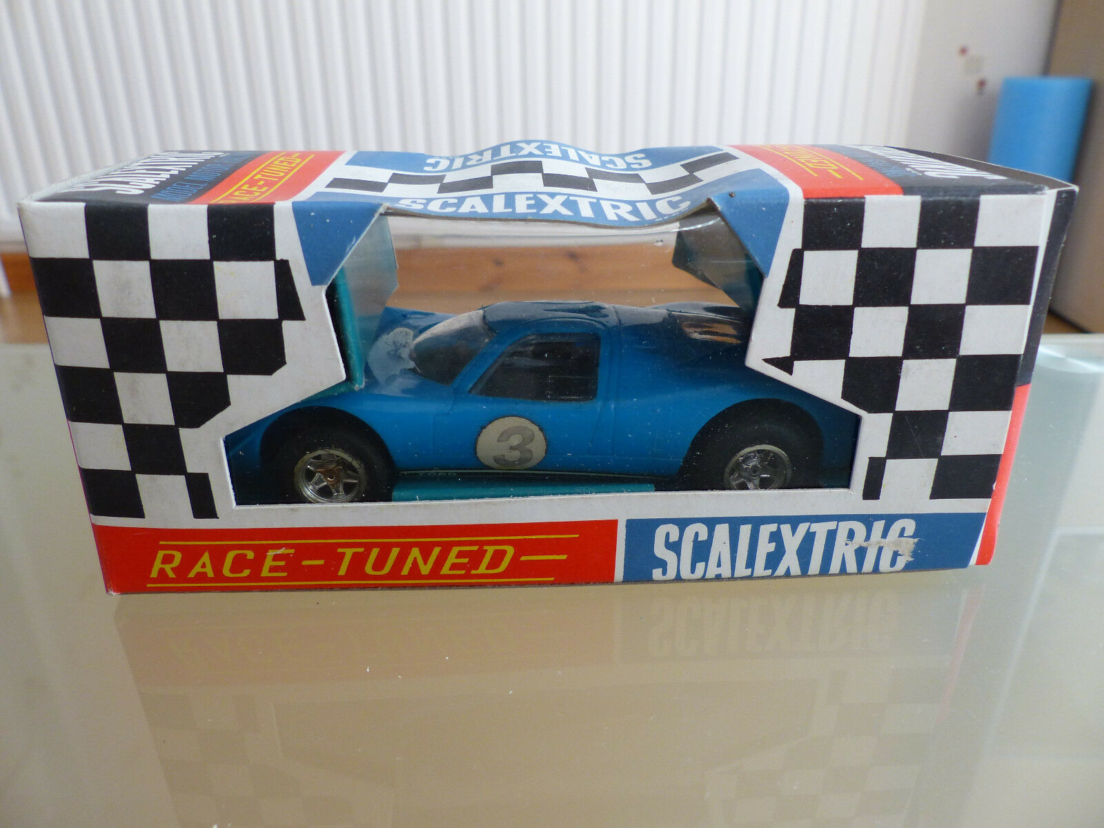 Fuxi double double double à acheter! Scalextric Ford Mirage-C15-Bleu-Comme neuf & Boxed 7b0677