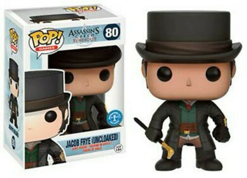 Assasins Creed sydicat-Jacob Frye Funko Pop Exclusiv VINILE NUOVO 80 uncloaked