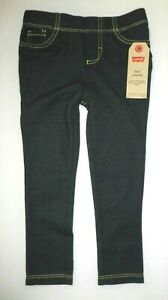 NEW Cherokee Toddler Girl Knit Pants Blue Size 4T