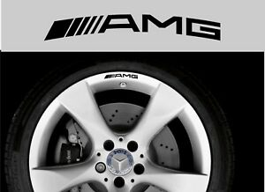 For-Mercedes-AMG-8-x-Alloy-Wheel-Rim-CAR-DECAL-STICKERS-75mm-long