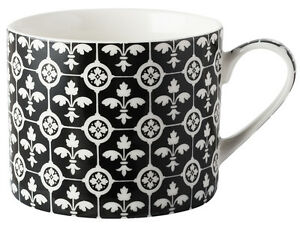 V A Encaustic Tiles Fleur De Lys Fine China Mug Ebay