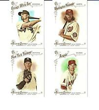 4 Each 2014 Topps Allen and Ginter Hi # SP Cards #'s 305, 322, 328 & 338