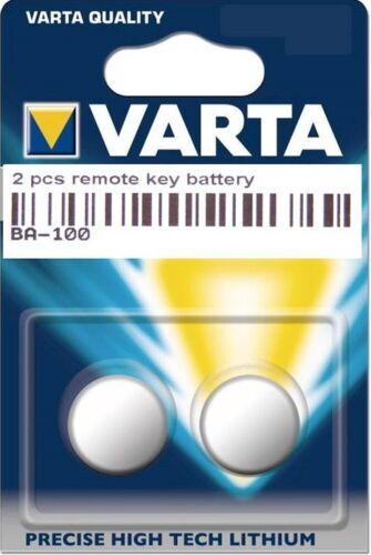 2 Original VARTA Batterie Clé Pour Mercedes A C ML classe w168 a160 a140