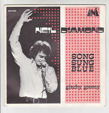 "Neil DIAMOND Vinyl 45T 7"" SONG SUNG BLUE -GITCHY GOOMY -UNI 6073039F Rèduit RARE"