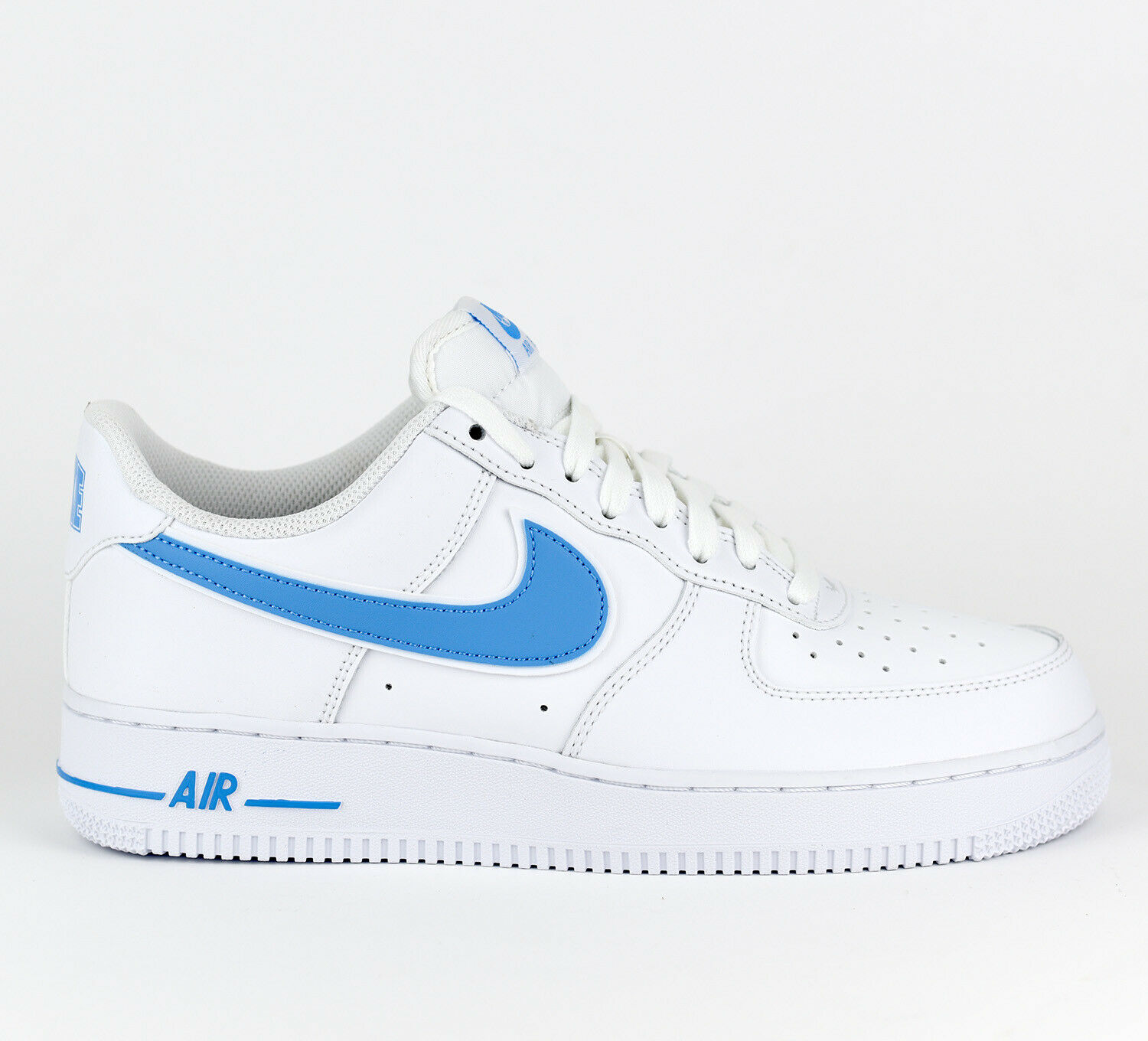 Nike Air Force 1 1 1 '07 3 AF1 Men Lifestyle Sneakers New White bluee AO2423-100 22e60a