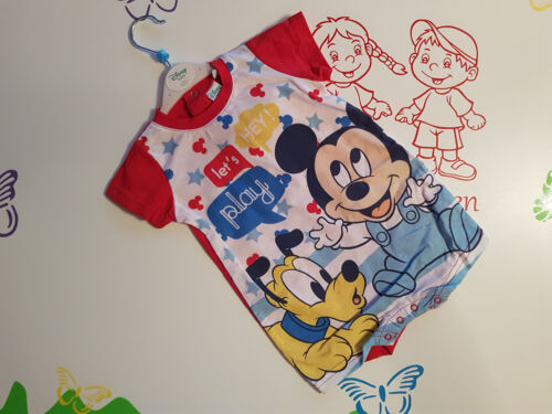 Spieler Kurzarm Strampler Overall Mickey Mouse