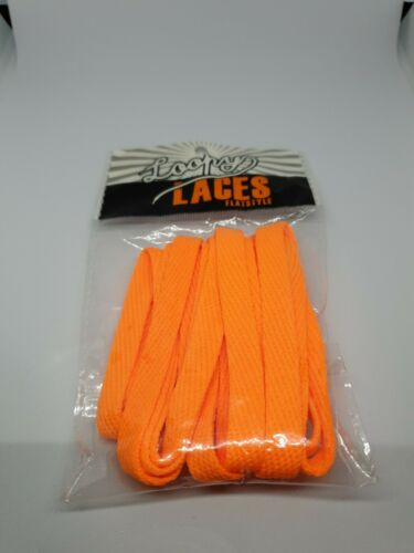 Loopy Laces flat colourful laces shoelaces running short long Camo Laces.