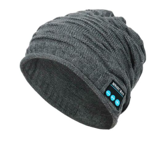 Bluetooth Musik warme Mütze  Wireless Smart Cap Headset Kopfhörer Lautsprecher