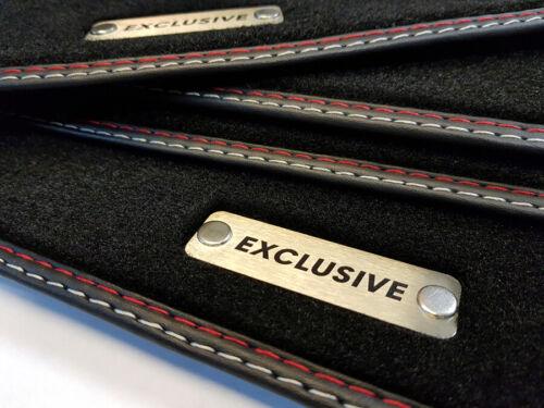 Exclusive tapices Chevrolet Epica original calidad gamuza metal logotipo nuevo
