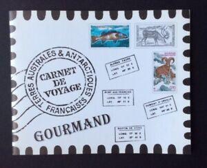 Franzoesisch-Antarktis-2004-90c-X-12-Voyage-Souvenir-Broschuere-MNH-515a-L