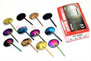 Titanium-New-12-x-Dental-Mouth-Mirror-heads-Cone-Socket-5-Plain-Free-Handle
