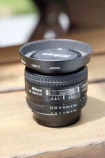 Nikon NIKKOR 28mm f/2.8 AF Lens w/ HN-1 Lens Hood Bundle