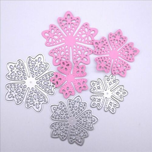 Flower Metal Cutting Dies Cut Stencils and Stamps for DIY Scrapbooking paper DIY