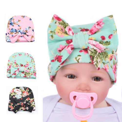 Bowknot Hat Cute Newborn Baby Big Bow Knit Soft Comfortable Durable Photo Prop