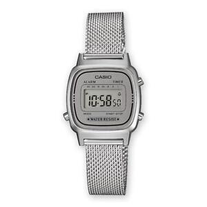 0e183e5d09d9 La imagen se está cargando Reloj-De-Mujer-CASIO-Vintage-LA670WEM-7EF-Acero-