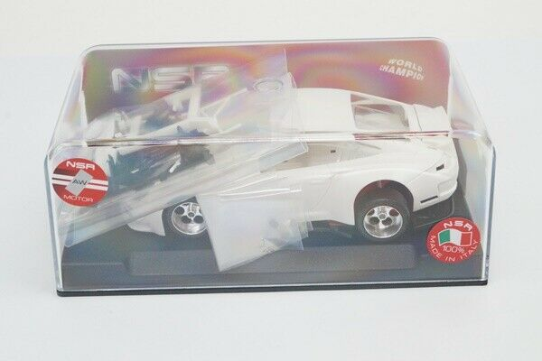 1072AW NSR 1 32 Porsche 997 RSR Body Weiß Kit AW King EVO3 21K Slot Car