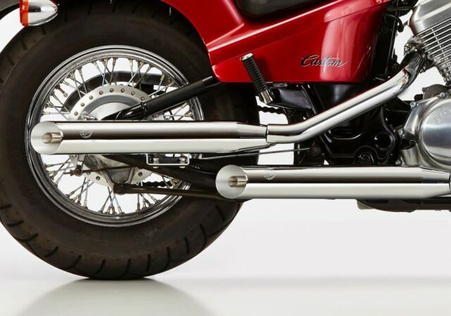 Falcon Cromo Linea Scarico Honda VT 600 C Shadow 2 ESD Destra Incl. 2 Collettore