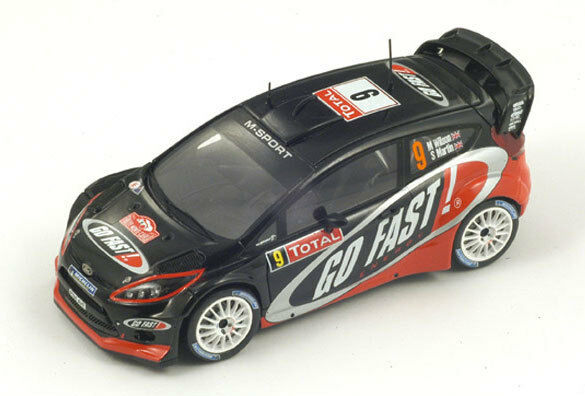Spark Ford Fiesta RS WRC No. 9 11th Rally Monte Carlo 2012 M. Wilson s3344 1 43