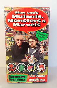 STAN-LEE-039-S-Mutant-039-s-Marvels-039-and-Monsters-Double-VHS-Sealed-Pack-2002