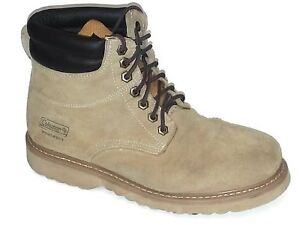 303828f74bd Coleman Men's Workman Oil Resistant Leather Suede Works Boots Shoes ...
