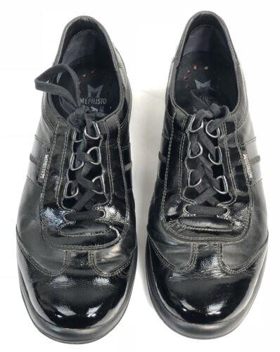 Sneakers 9 Mephisto 5eac5d28c1f1511d513db14f24eb56870 pelle con nere in Us da latente Sneakers donna lacci Comfort laser l13uFJTcK