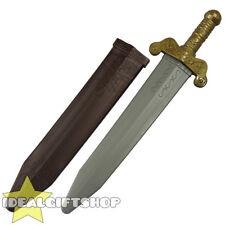 Roman Spartan Greek Sword Prop Fancy Dress Costume Accessory Adults Ancient 68cm
