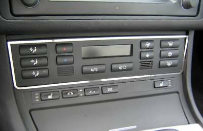 D BMW E46 Chrom Rahmen für die Schaltung Edelstahl poliert