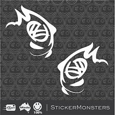 VW GTI FAST Matched Pair 120mmW Volkswagen Sticker Decal Golf JDM EURO Drift