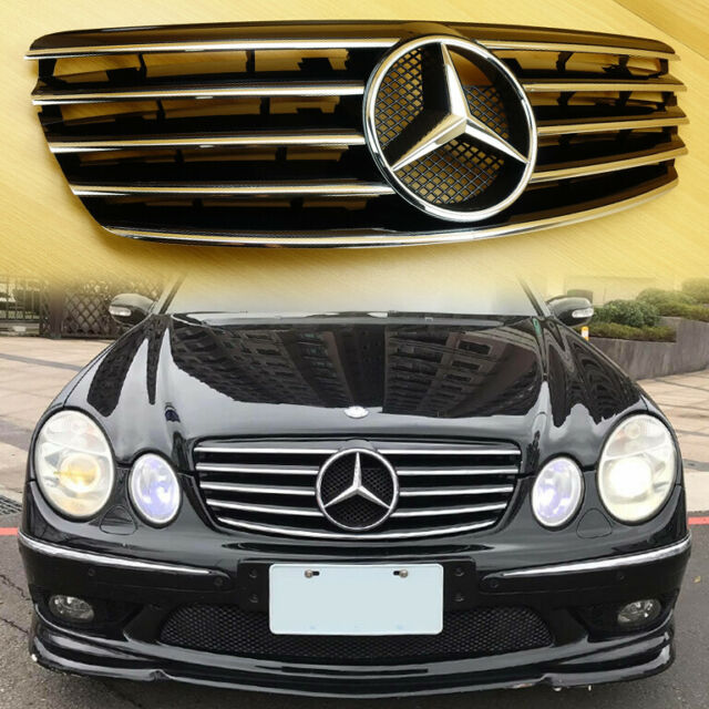03-06 Fit Mercedes-Benz W211 E-Class Shiny Black 5 Fin Pre ...