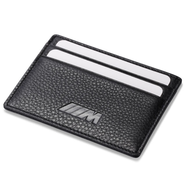 quality design hot-selling clearance available BMW M Slim Mini Wallet 100% Genuine Cow Leather Credit Card Case Men Holder  Car