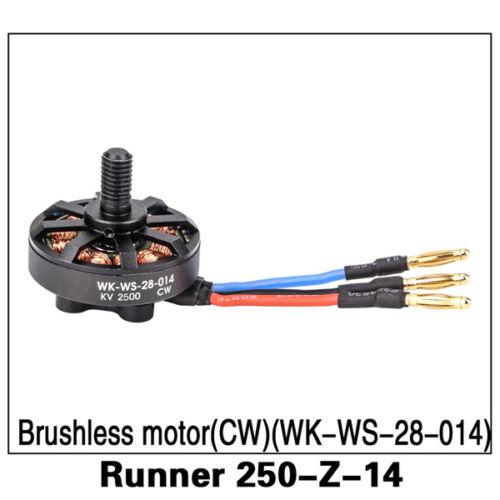 Walkera Part Runner 250-Z-14 Brushless motor CW WK-WS-28-014