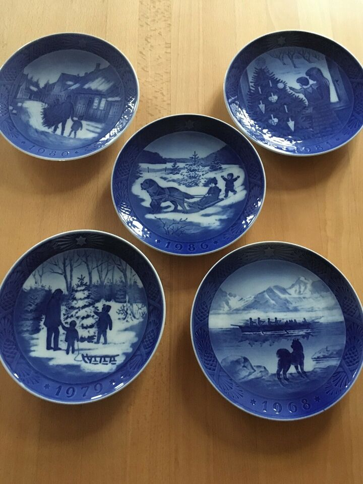 Porcelæn, Platter, Royal Copenhagen