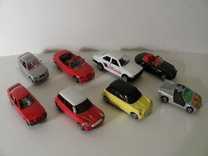 Bmw diferentes modelos para la selección siku