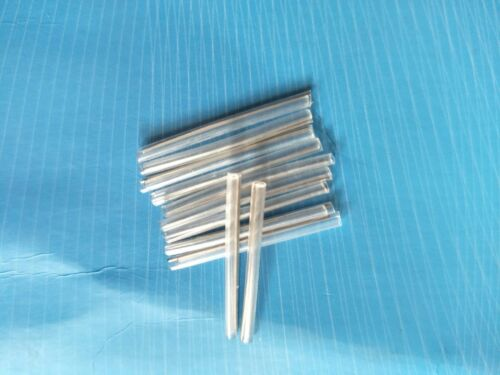 100pc 25mm Fiber Optic Fusion Splice Protection Sleeves needle 0.7mm #G6622 xh
