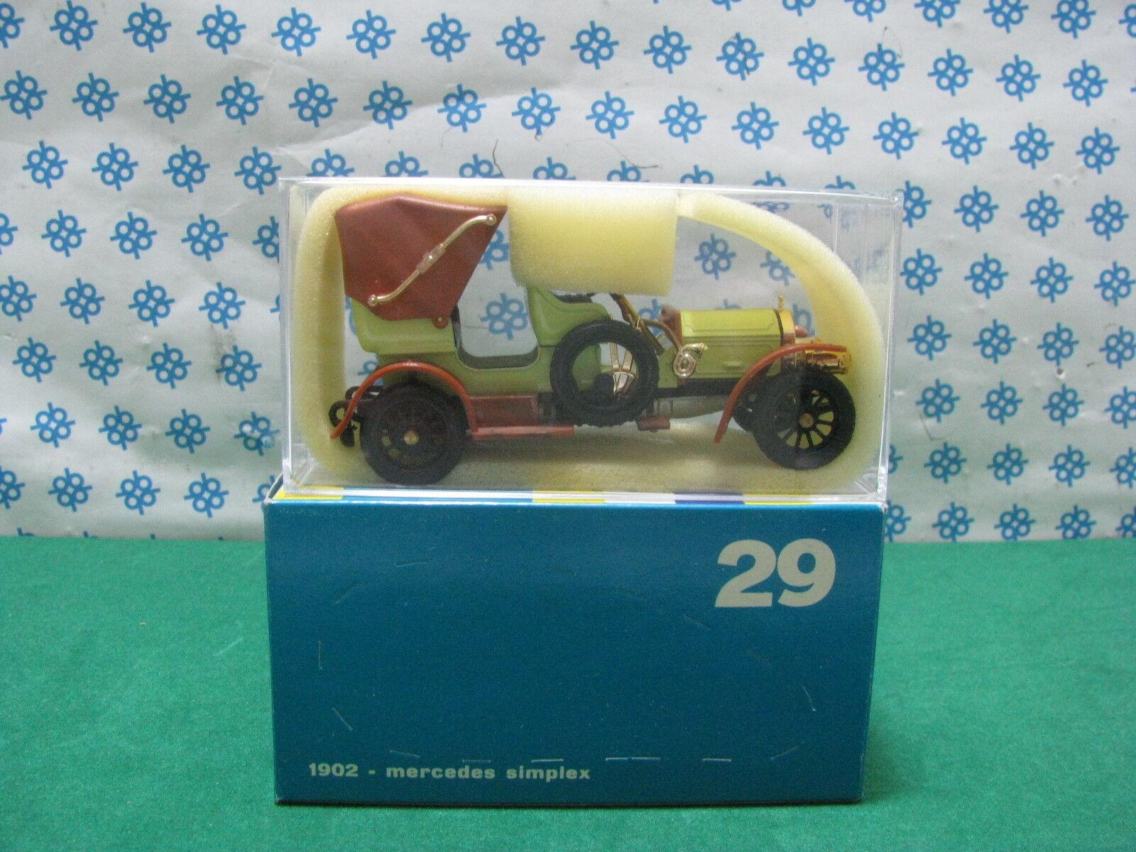Vintage - Mercedes Simplex 1902 - 1 43 Rio 29 29 29 Mint 017a57
