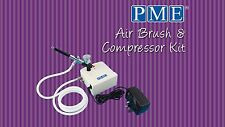 PME Airbrush and Compressor Kit For Cake Decoration Sugarcraft Hobbies
