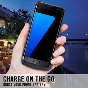 COQUE-A-BATTERIE-Chargeur-Banque-DE-SECOURS-INTEGREE-Pour-Samsung-Galaxy-S7-Edge