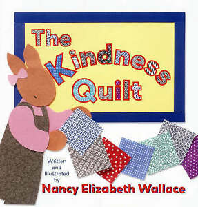 The-Kindness-Quilt-by-Elizabeth-Wallace-Nancy-NEW-Book-FREE-amp-FAST-Delivery