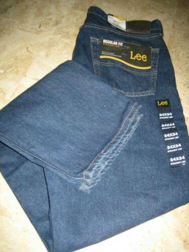 NWT Men/'s Lee Classic 5 Pocket Regular Fit Straight Leg Jeans