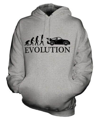 SPORTS CAR EVOLUTION OF MAN UNISEX HOODIE  Herren Damenschuhe LADIES GIFT