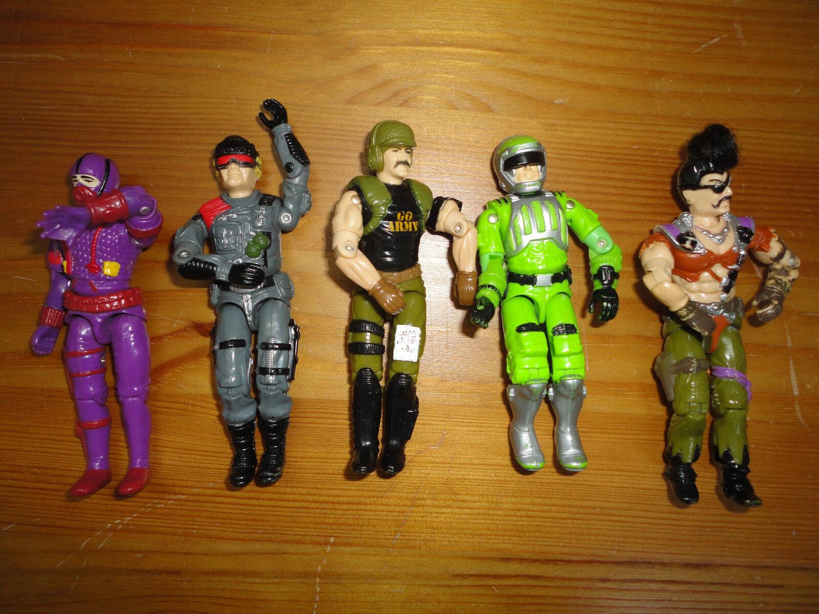 Gi - joe actionfiguren gemischte menge 5 hasbro 3,5 zoll diverse charaktere gemischte g