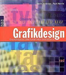 Grafikdesign-Grundmuster-des-kreativen-Gestaltens-von-Buch-Zustand-gut