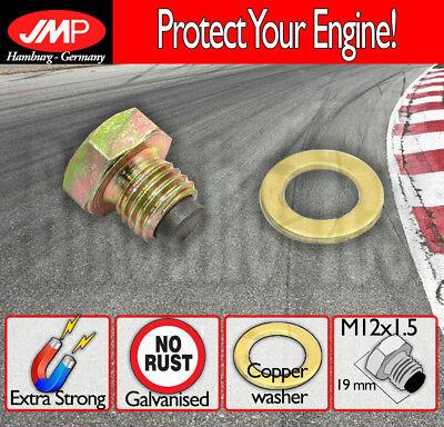 Magnetic Oil Drain Sump Plug JMP Honda NX 650 1988 to 1999