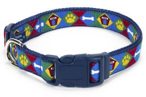 Douglas-Paquette-FIDO-Nylon-Ribbon-Adjustable-Dog-Collar-Harness