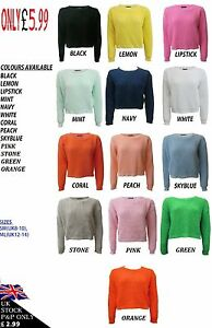 NEW-WOMENS-LADIES-CROP-TOP-LONG-SLEEVE-JUMPER-8-18-SALE-SAVE-1-FOR-EVERY-2-ITEM