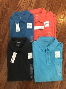 6204b70f5b4218 Sonoma Sun Washed Men s Knit Polo Shirt Kohl s 100% Cotton JCP5